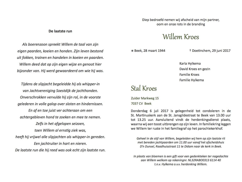 Rouwbrief de heer Kroes definitieve versie